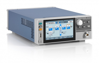 Rohde and Schwarz SMCV100B Vector Signal Generator - angled left