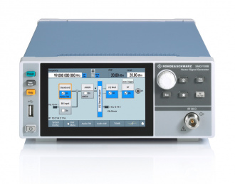 Rohde and Schwarz SMCV100B Vector Signal Generator - front top
