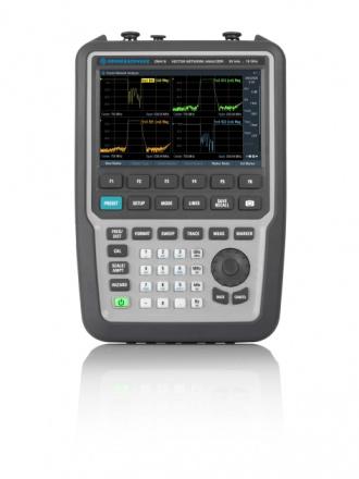 Rohde & Schwarz ZNH18 handheld vector network analyzer - front