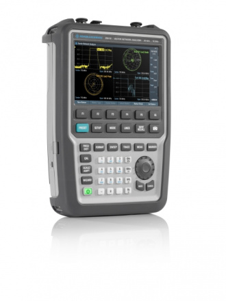 Rohde & Schwarz ZNH18 handheld vector network analyzer - left