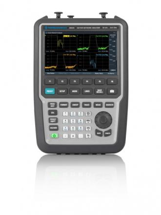 Rohde & Schwarz ZNH26 handheld vector network analyzer - front