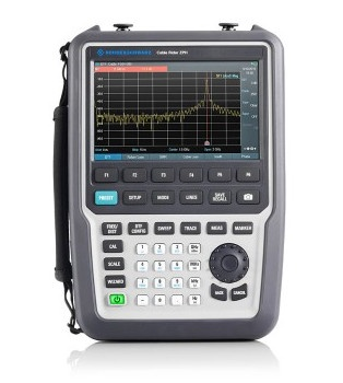 Rohde & Schwarz ZPH Cable Rider cable and antenna analyzer - front