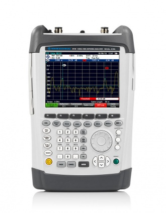 Rohde and Schwarz ZVH cable and antenna analyzer - front