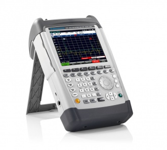 Rohde and Schwarz ZVH cable and antenna analyzer - side