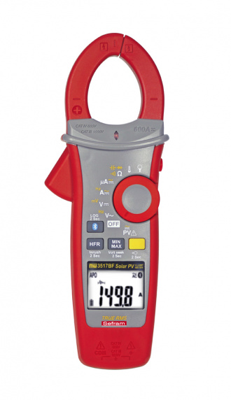 SEFRAM MW 3517BF clamp meter - front