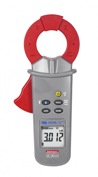 SEFRAM MW 3950B Leakage current clamp - front