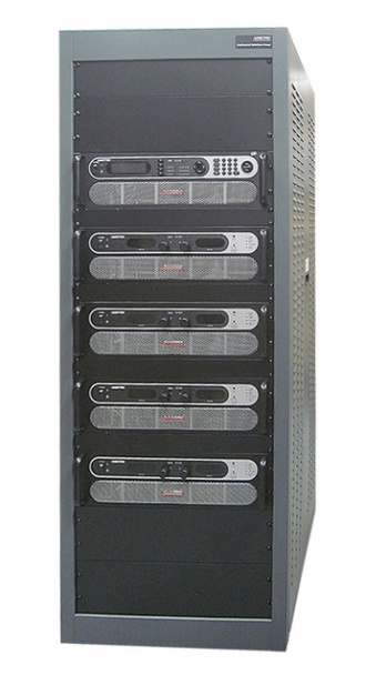 Sorensen HPX DC Power Supply rack