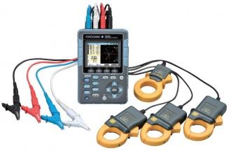 Yokogawa CW500 hand-held power analyzer - with probes