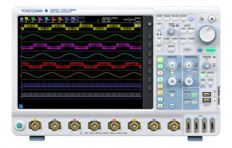 Yokogawa DLM5000 series Mixed Signal Oscilloscope - front panel