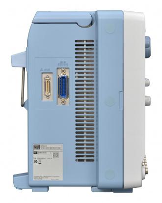 Yokogawa DLM5000 series Mixed Signal Oscilloscope - left side