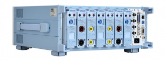 Yokogawa WT5000 power analyzer - back left