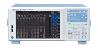 Yokogawa WT5000 power analyzer - front with top