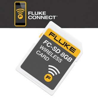 Fluke connect wireless SD card