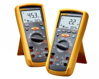 Fluke 1577 and 1582 insulation multimeter