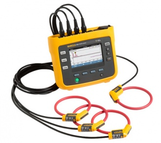 Fluke 1736 3 phase power logger with current clamps