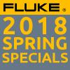 Fluke spring specials 2018